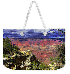 Weekender Tote Bag featuring the photograph Grand Canyon by Craig T Burgwardt