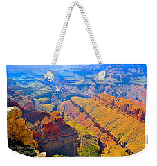 Grand Canyon In Vivid Color Weekender Tote Bag
