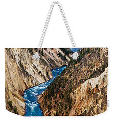 Grand Canyon Of Yellowstone Weekender Tote Bag