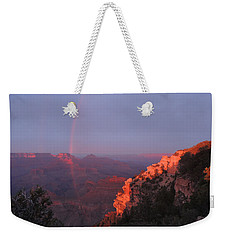 Grand Canyon Rainbow Weekender Tote Bag