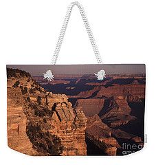 Weekender Tote Bag featuring the photograph Grand Canyon Sunrise by Liz Leyden
