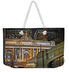 Grand Central Nocturnal Weekender Tote Bag