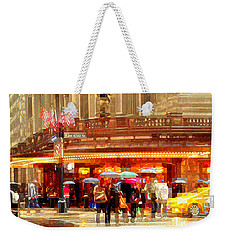 Grand Central Station In The Rain - New York Weekender Tote Bag