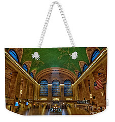 Grand Central Station Weekender Tote Bag by Susan Candelario