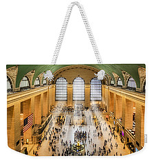 Grand Central Terminal Birds Eye View I Weekender Tote Bag