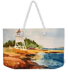Grand Marais Weekender Tote Bag
