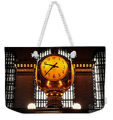 Grand Old Clock At Grand Central Station - Front Weekender Tote Bag