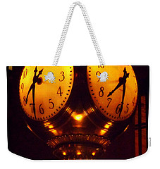 Grand Old Clock - Grand Central Station New York Weekender Tote Bag