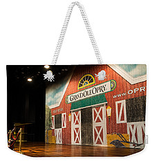 Ryman Grand Ole Opry Weekender Tote Bag