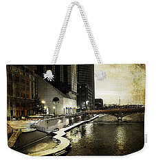 Grand Rapids Grand River Weekender Tote Bag