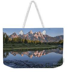 Grand Teton Awakening Weekender Tote Bag