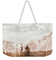 Grand Teton Mountains Weekender Tote Bag by Greg Collins