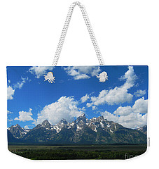 Grand Teton National Park Weekender Tote Bag by Janice Westerberg