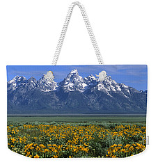 Grand Teton Summer Weekender Tote Bag