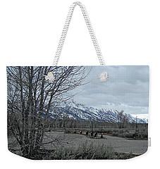 Grand Tetons Landscape Weekender Tote Bag