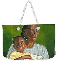 Grandma's Lap Weekender Tote Bag