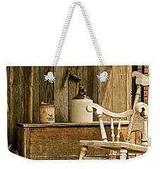 Grandpa's Front Porch Weekender Tote Bag