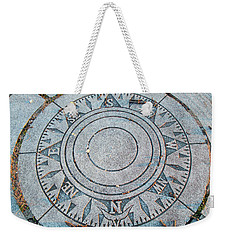 Granite Compass Weekender Tote Bag