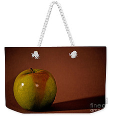 Weekender Tote Bag featuring the photograph Granny Smith by Sharon Elliott