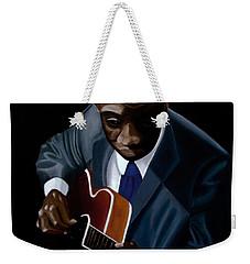 Grant Green Weekender Tote Bag by Barbara McMahon