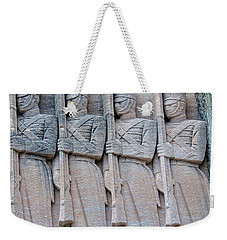Grant Hall Cadet Fresco Weekender Tote Bag by Dan McManus