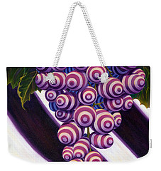 Grape De Menthe Weekender Tote Bag