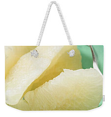 Grapefruit Segments On Plate With Fork Weekender Tote Bag