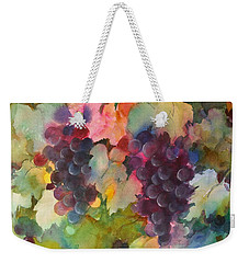 Grapes In Light Weekender Tote Bag