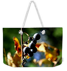Grapes On The Vine No.2 Weekender Tote Bag by Neal Eslinger