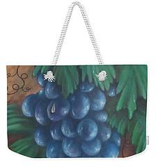 Grapes With Dewdrop Weekender Tote Bag