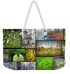 Grass Collage Variety Weekender Tote Bag