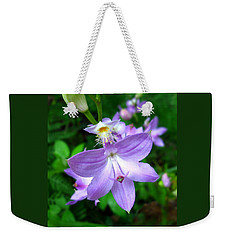 Grass Pink Orchid Weekender Tote Bag