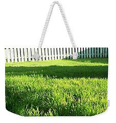 Grass Shadows Weekender Tote Bag