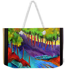 Grate Mountain Weekender Tote Bag by Elizabeth Fontaine-Barr