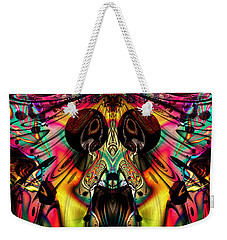 Grateful Desert Skull Weekender Tote Bag