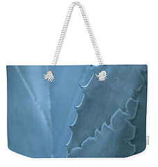 Gray-blue Patterns Weekender Tote Bag