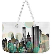 Gray City Beams Weekender Tote Bag by Susan Bryant