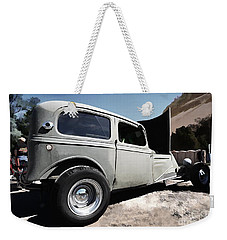 Weekender Tote Bag featuring the photograph Greaserama 2011 by Liane Wright