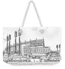 Great American Ball Park Line Weekender Tote Bag