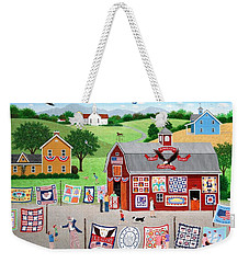 Great American Quilt Factory Weekender Tote Bag