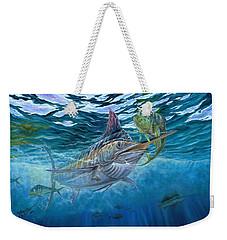 Great Blue And Mahi Mahi Underwater Weekender Tote Bag