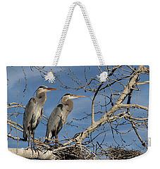 Great Blue Heron Mates Weekender Tote Bag