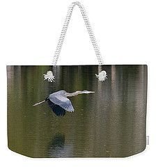 Great Blue Over Green Weekender Tote Bag