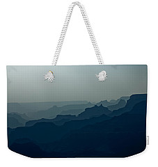 Weekender Tote Bag featuring the photograph Great Crevice by Joel Loftus