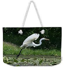 Great Egret Elegance   Weekender Tote Bag