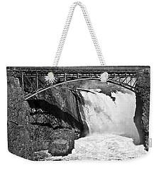 Great Falls In Paterson Nj Weekender Tote Bag
