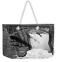 Great Falls In Paterson Nj Weekender Tote Bag by Anthony Sacco