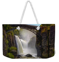 Great Falls Mist Weekender Tote Bag