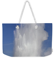 Great Fountain Burst Weekender Tote Bag