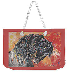 Great Fresian Weekender Tote Bag by Mary Armstrong